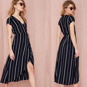 •Faithfull The Brand• Lulu Wrap Maxi Dress Small